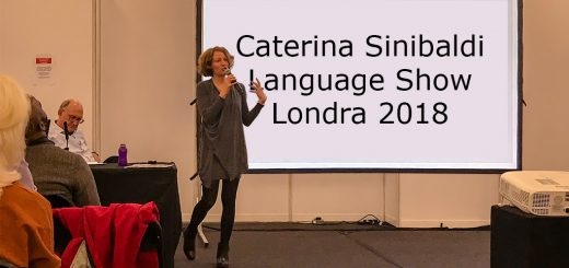 Caterina Sinibaldi - Language Show 2018